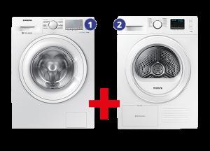 Samsung Wasmachine + Wasdroger leasen via leaseplein