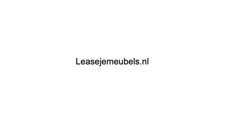 leasejemeubels.nl